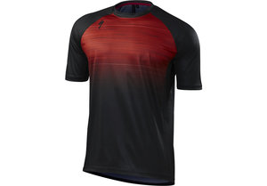 Enduro Comp Jersey Ss Red Speed Blur