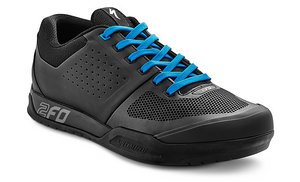 tretry 2FO Flat MTB Black/Neon Blue