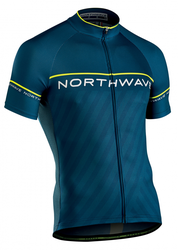 dres NORTHWAVE Logo3 Blue/Yellow Fluo