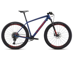 S-WORKS EPIC HARDTAIL WORLD CUP CMLN/RKTRED/BLK L