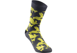Camo Summer Sock Anth/Ion