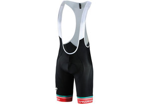 Sl Expert Bib Short Red/Wht Aspect