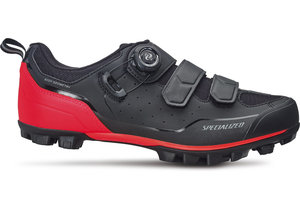 Tretry Comp MTB Black/Rocket Red