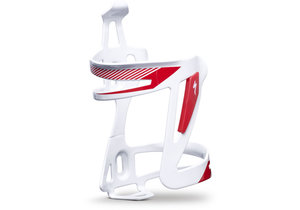 ZEE CAGE II ALLOY WHT/RED