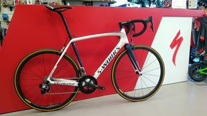 Specialized TARMAC SW METWHT/NVY/RKTRED 58   58