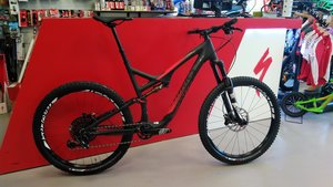 Specialized Stumpjumper FSR CARBON EVO 650B SW CARB/CHAR/RKTRED XL 2015  XL