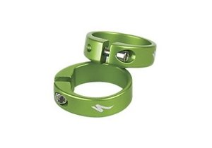 GRIP LOCKING RING 1 pair Green Anodized