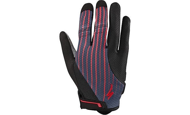 BG Gel Long Finger Gloves ACDRED/LINE FADE