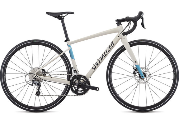 Specialized Diverge E5 Elite Women's  Satin White Mountains/Tropical Teal-Nice Blue/Black