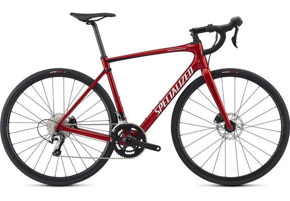 Specialized Roubaix – Hydraulic Disc Gloss/Candy Red/Tarmac Black/Metallic White Silver
