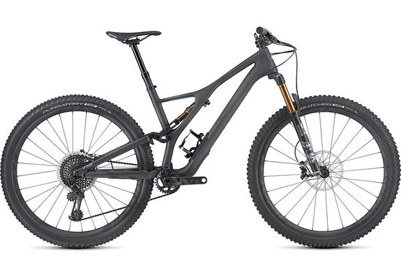 S-Works Stumpjumper ST  Satin Carbon/Storm Grey