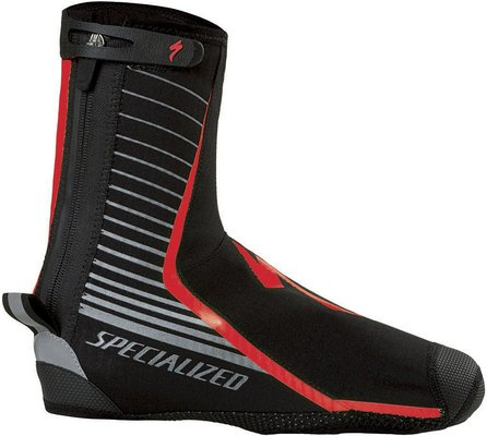Deflect Pro Shoe Cover Blk/Red