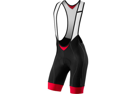 Rbx Comp Bib Short Blk/Red