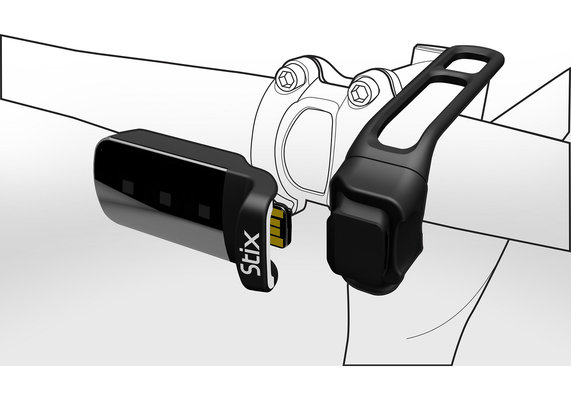 Stix Handlebar/Seatpost Mount Black