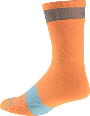 Reflect Tall Socks Neon Orange