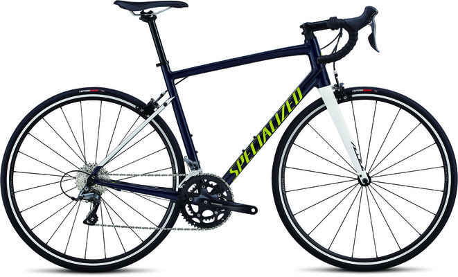 Specialized Allez  Gloss Cast Blue/Metallic White Silver/Limon