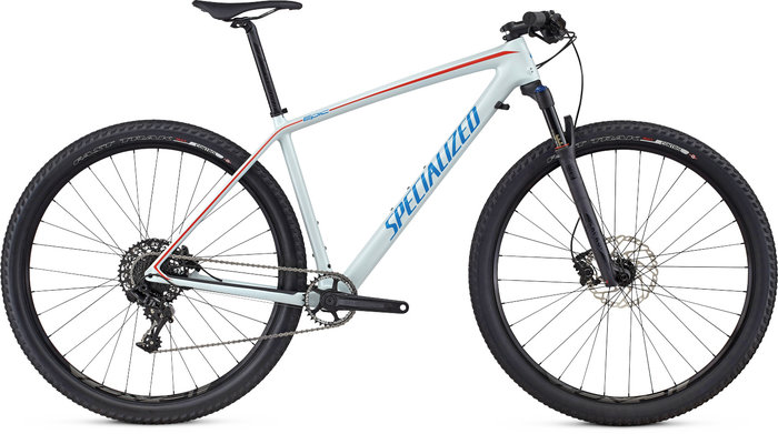 Specialized Epic HT Comp Carbon WC pánský  BBYBLU/NENBLU/NRDCRED