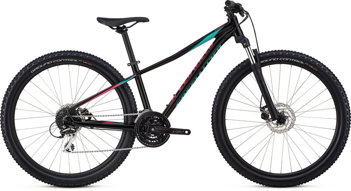 Specialized Pitch Sport 27.5 dámské  Gloss Tarmac Black/Acid Mint/Acid Pink/Reflective